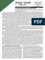 Zomi Times (4 April 2014)