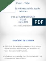 Presentación corta  Marco de referencia de la Acción Tutorial (PT) MARZO 2014 Doris