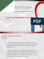 UNIV Digitalization July2013