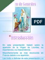 Virgen de Lourdes 2