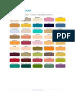 Carta de Colores Cpp Duralatex