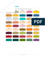 Carta de Colores Cpp Duralatex