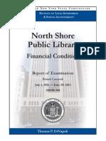 North Shore Public Library Financial Condition
