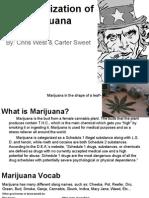 legalization of marijauna