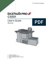 External Light Bizhub C5501