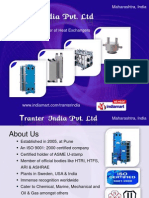 74118620 Gasketed Plate Heat Exchangers and Heat Exchangers by Tranter India Pvt Ltd Pune