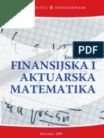 US - Finansijska i Aktuarska Matematika