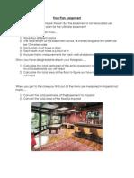 floor plan assignment