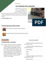 Como construir um balcão de cozinha _ eHow Brasil