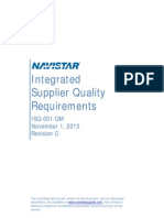 Navistar Integrated Supplier Quality Requirements