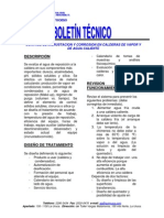 Control de Incrustacion y Corrosion en Calderas de Vapor y de Agua Caliente