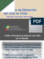 Procesos de obtención del Litio en Chile