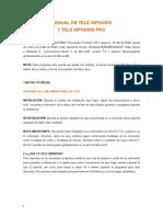 Manual Tele Hipnosis Pro Modificado