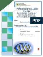 Interpretación del flujograma de la OTM