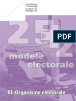 25plus2 Modele Electorale III Organisme Electorale