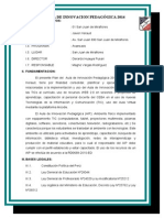 Plan Aula Innovacion 2014