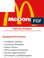 McDonald's Industry Analysis