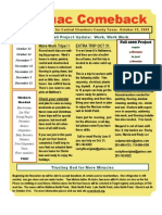 Anahuac Comeback October 2009 Newsletter