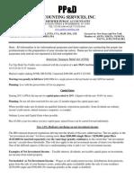 Tax Time Info