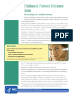 ipv and hiv in women