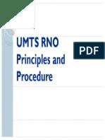 UMTS RNO Principles and Procedure