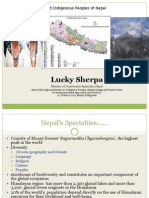 Lucky Sherpa (NEPAL) - Climate Change and Indigenous Peoples of Nepal