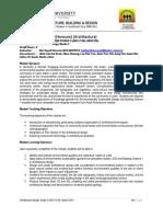 Studio 4 ARC2128 Module Outline (March2014) Student Copy