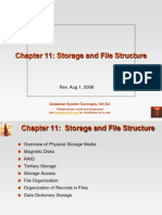 11. Storage and File Structure
