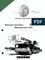 165 Ton LTM 1120 Liebherr