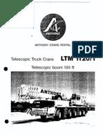 175 Ton LTM 1120-1 Liebherr