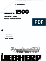 500 Ton LTM 1500 Liebherr