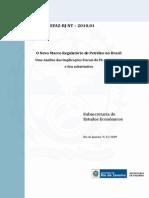 O Novo Marco Regulatório do Petróleo no Brasil
