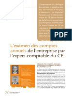 2354 Examen Comptes Annuels Ce Janvier 2012