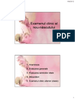 Examenul Clinic Al Nou-nascutului