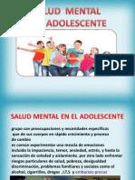 Clase IIIsalud Mental Adolescente
