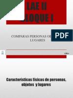 LAE II BLOQUE  I-ESPAÑOL