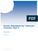 Green Solutions for Telecom Towers Part 1