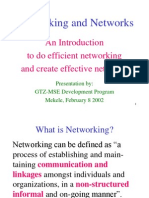An Introduction to Do Efficient Networking and Create Effective Networks