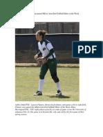 NSU Freshman Named MIAA AstroTurf Softball Hitter of the Week