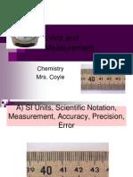 1C Units and Measurement
