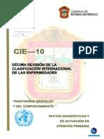 CIE-10 Mexican