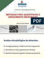 Metodos de quantificação de microrganismos (1)