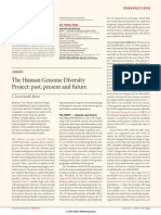 The Human Genome Diversity