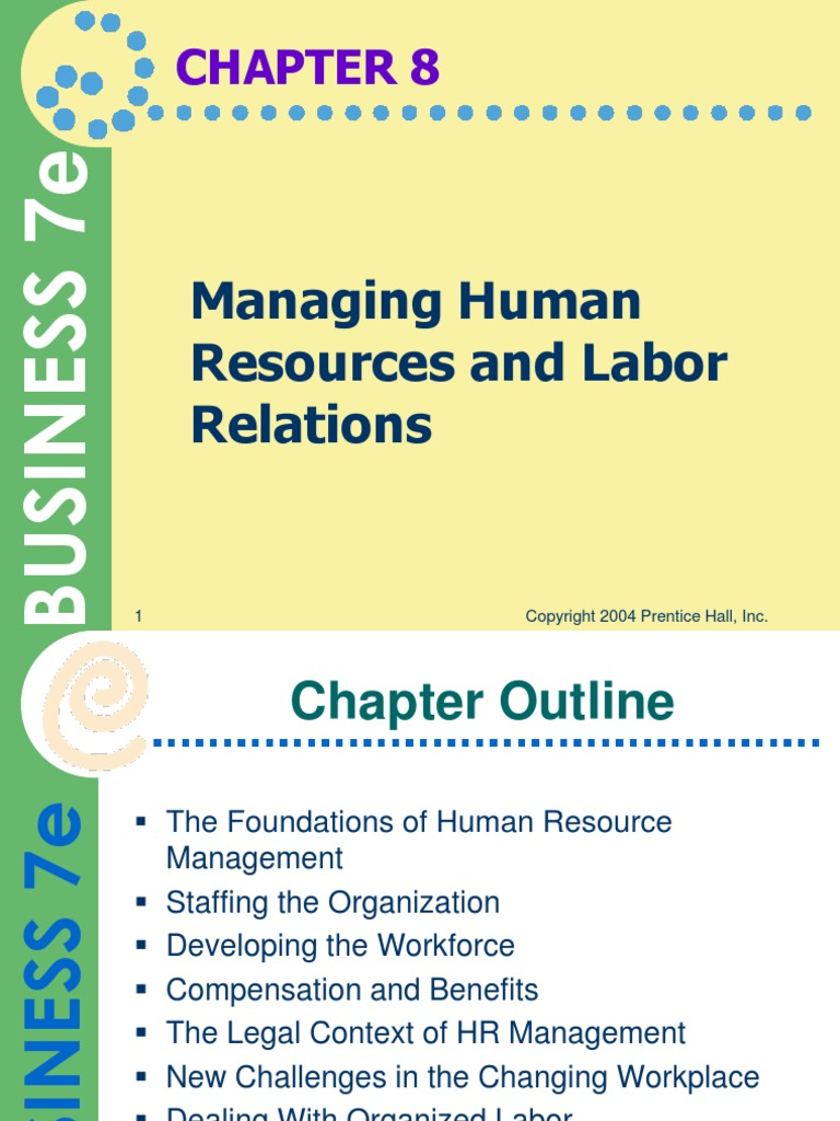 managing human relations The importance of human resources management in health care: a global context  stefane m  and raymond leduc human resources for health20064:20.
