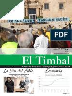EL TIMBAL DE L'ABRIL DE 2014