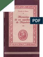 Memorias de Un Ayudante de Napoleon-II
