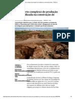 Descoberto complexo de produção de cal utilizada na construção de Beja - PÚBLICO
