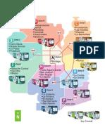 Mapa de Zonas y Comunas