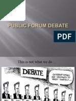 PF Debate Intro PPT