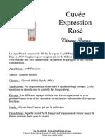 book de présentation AOP Faugères rosé page 5